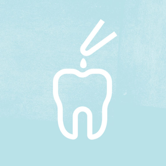 diseño icono tratamiento clínica dental ADE Barcelona