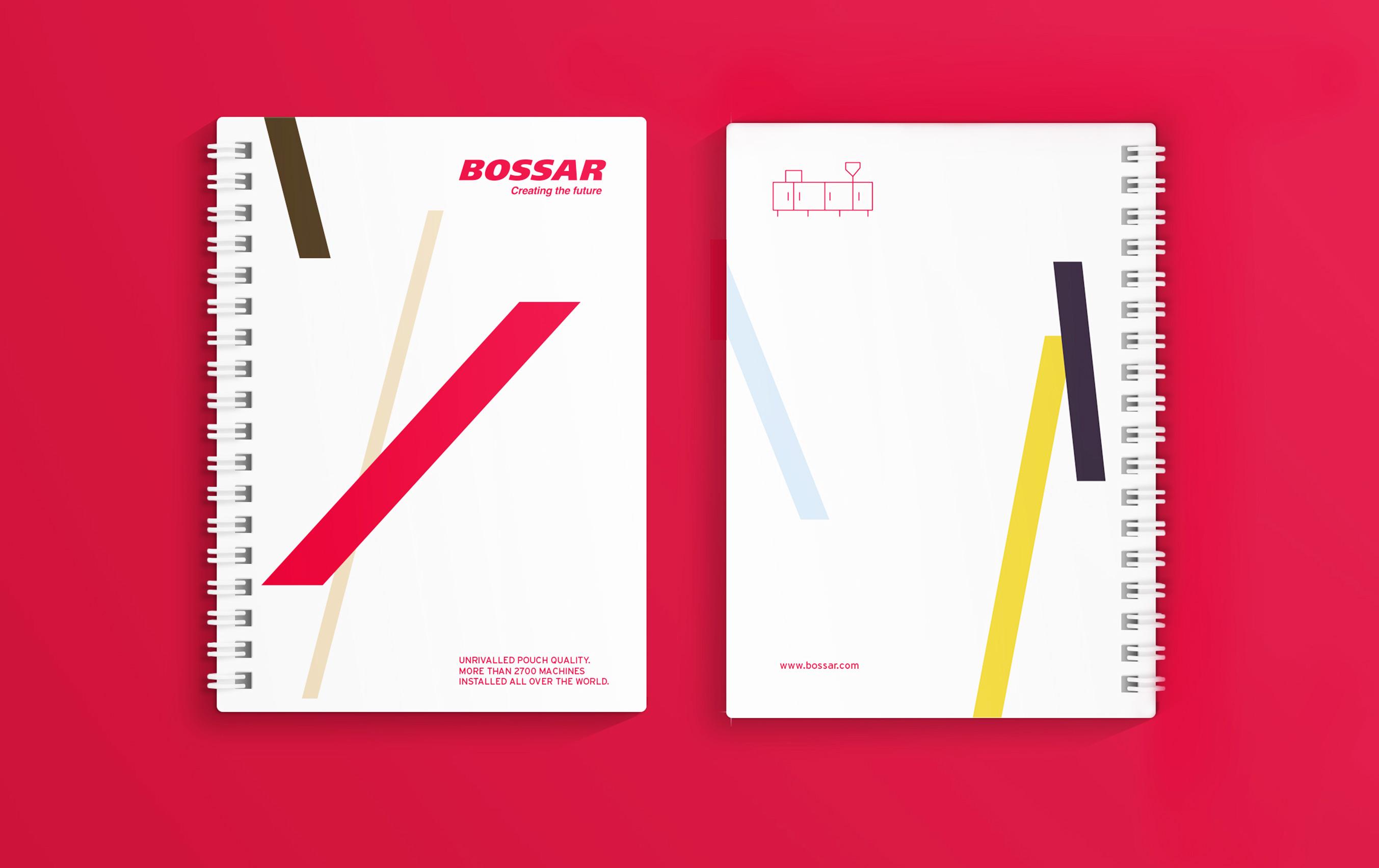 Diseño merchandising Bossar Packaging
