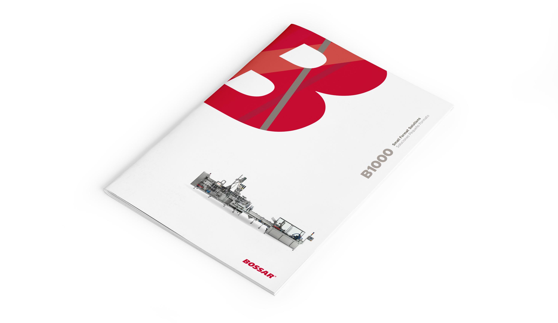diseño gráfico catálogo comunicación Bossar ingeniería barcelona
