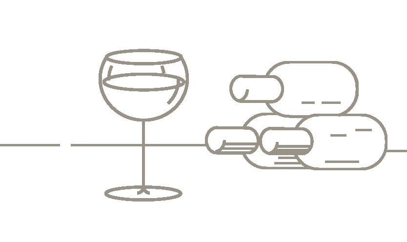 Five Sensations Agencia Viajes Lujo branding ilustración vinos