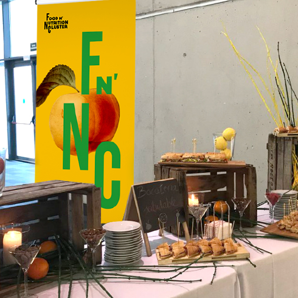 FnNC rollup catering fira reus cluster nutricion