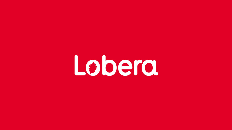 diseño logotipo lobera