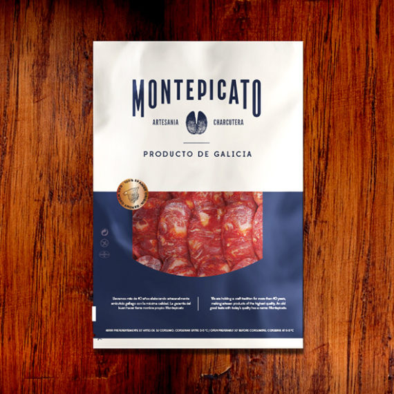diseño packaging loncheados Montepicato
