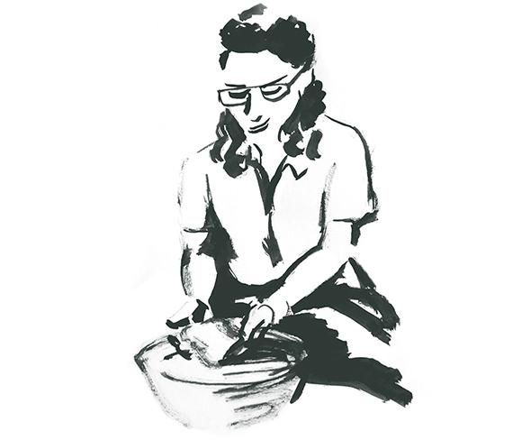 Ilustración web corporativa nutrición Menorca