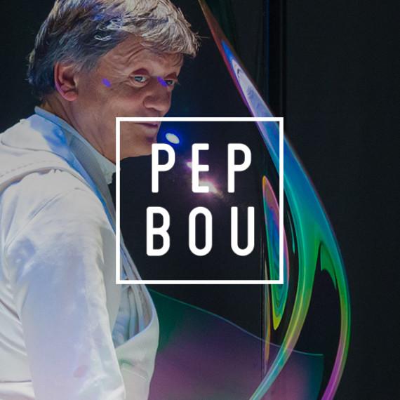 Diseño marca artista escénico Pep Bou