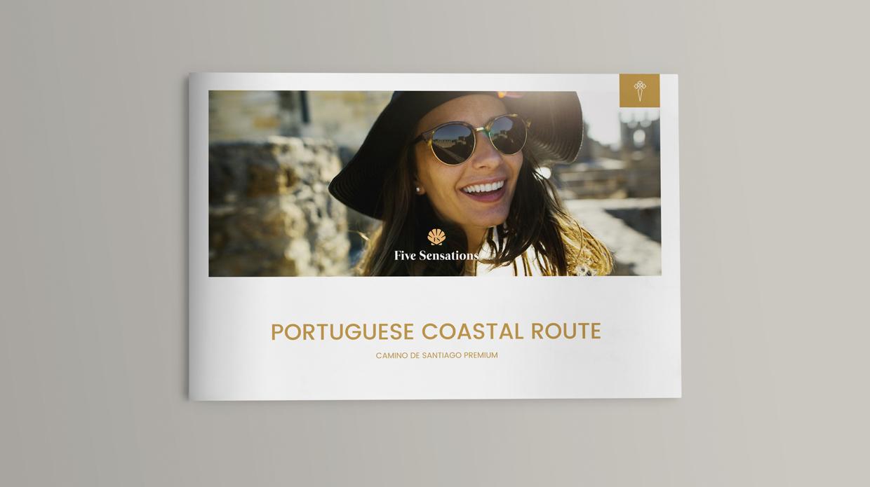 diseño catálogo agencia viajes lujo Five Sensations Santiago_de_Compostela Galicia