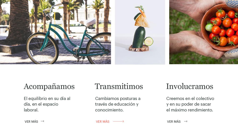 Diseño web asesoría nutrición Barcelona Menorca