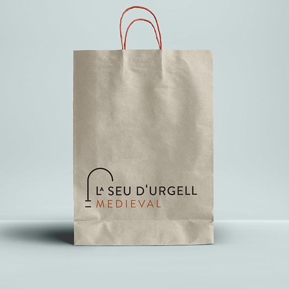 Diseño marca turística La Seu d'Urgell Medieval