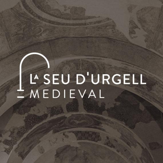 disseny logo la seu d'urgell medieval