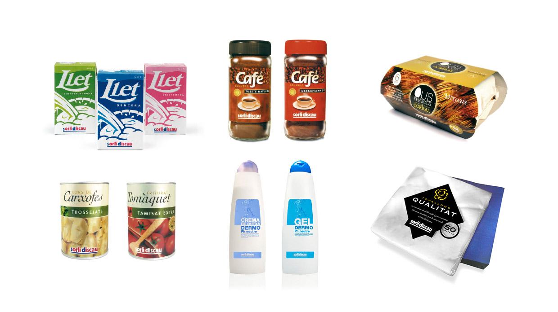 Diseño packaging supermercados Sorli