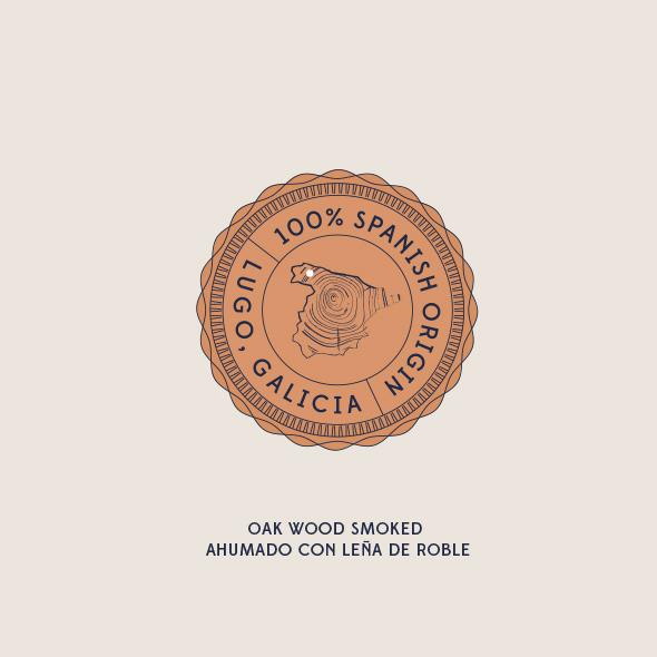 Diseño embutidos Montepicato sello calidad