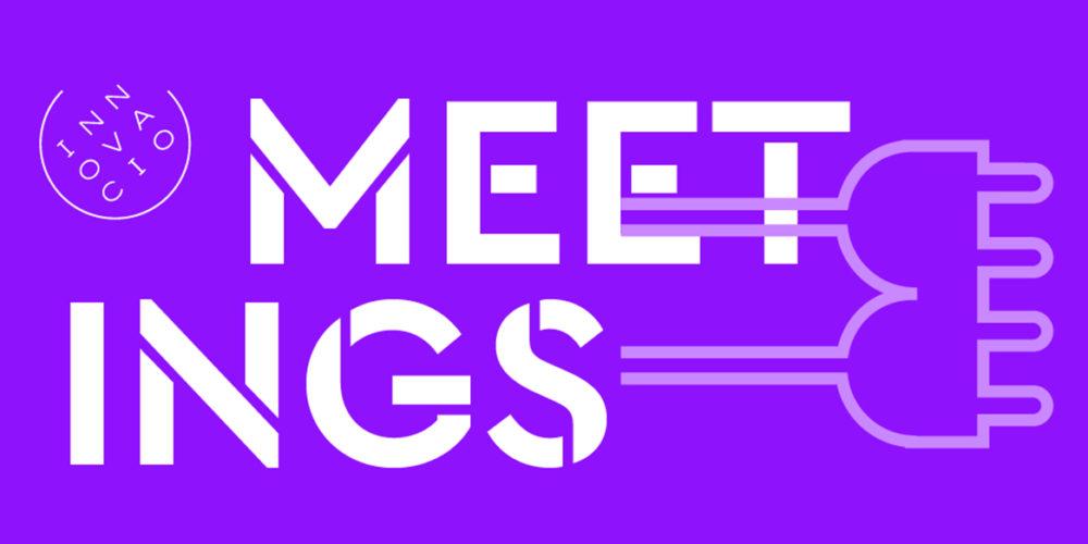 diseño marca logotipo meetings innovación UB