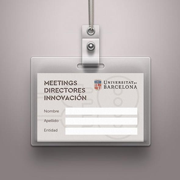 Diseño acreditación meeting innovación UB
