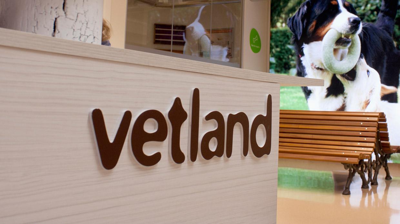 Diseño señalética clínica veterinaria Vetland