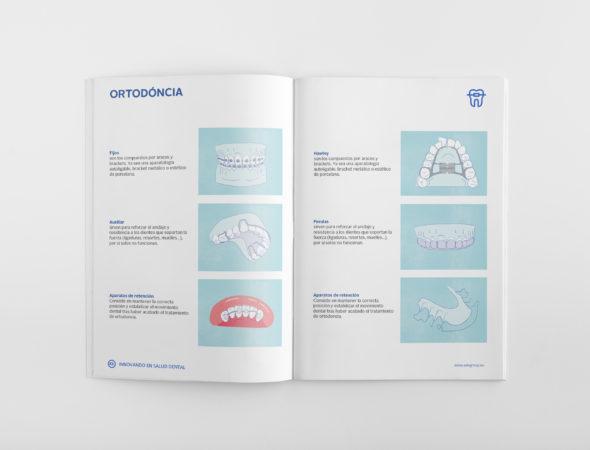 diseño comunicación comercial aseguradora dental ADE barcelona